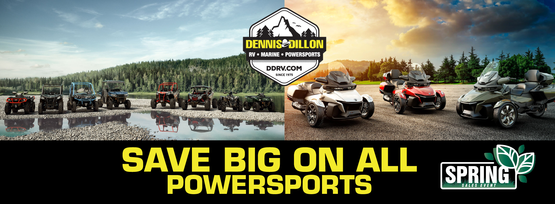 save big on all powersports