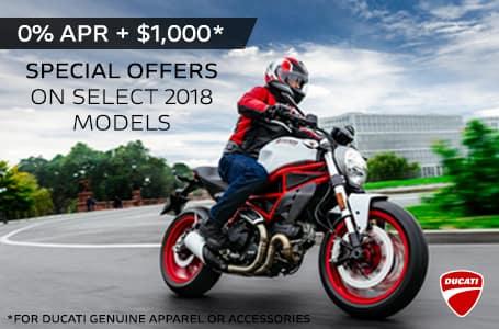 Ducati 2018 Model Offer