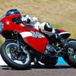 Ducati Adattare HPR cornering