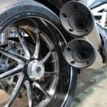 Ducati tailpipe