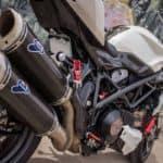 Ducati tailpipes