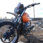 Moto Guzzi dramatic view