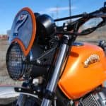 Moto Guzzi headlight