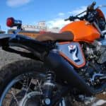 Moto Guzzi rear 3 quarter