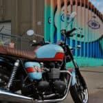 Triumph Gulf Bonnie rf1 street art