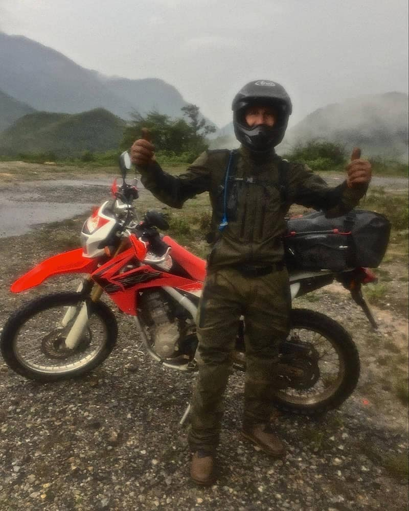 John Rides through Vietnam