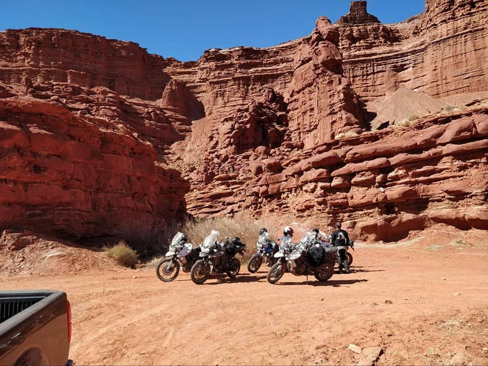 Kurt rides to Moab