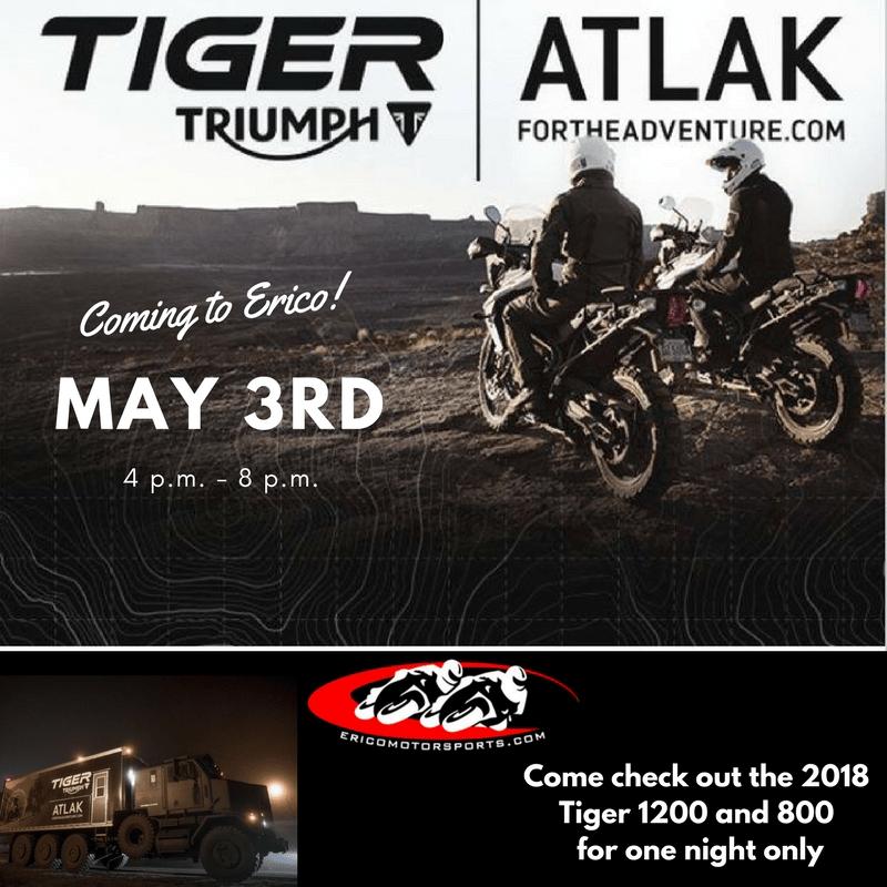 Triumph ATLAK trailer