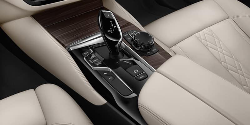 2018 BMW 5 Series Leather Upholstery