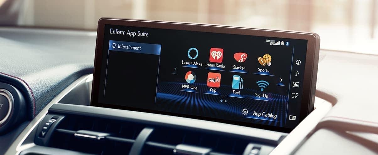 Lexus Enform App Suite