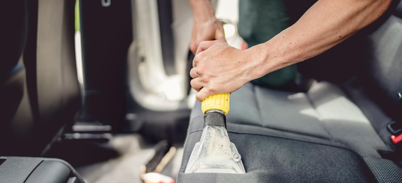 luxury car care interior cleaning