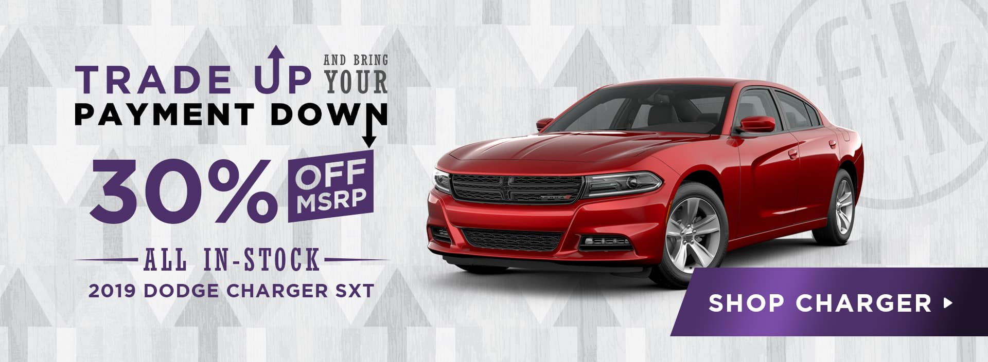 30% Off All In-Stock 2019 Dodge Charger SXT