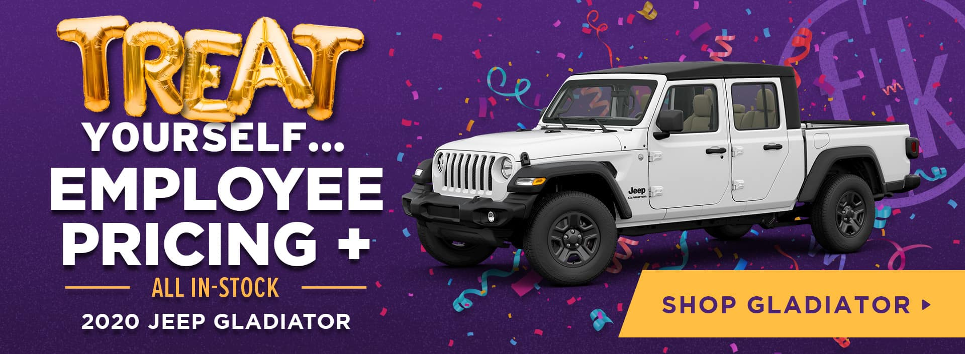 Employee Pricing+ All In-Stock 2020 Jeep Gladiators