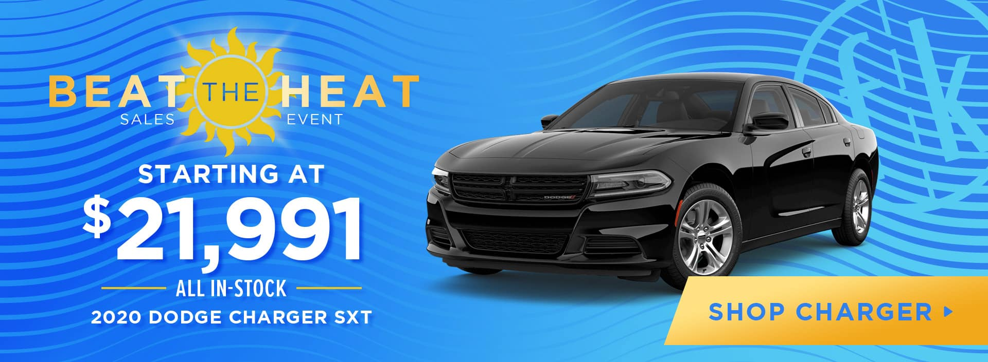 Starting at $21,991 All In-Stock 2020 Dodge Charger SXT