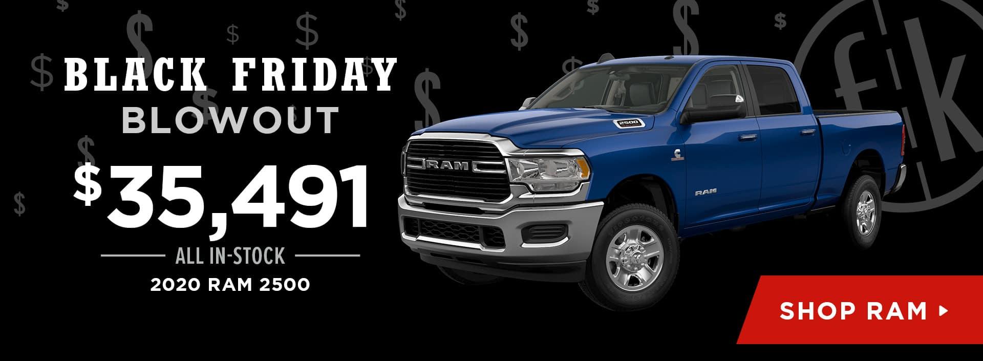 $35,491 All In-Stock 2020 RAM 2500