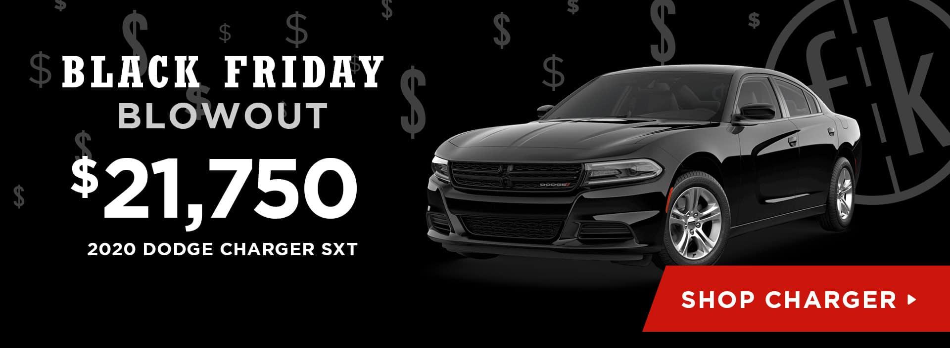 $21,750 2020 Dodge Charger SXT