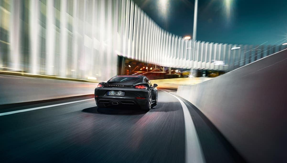 2019 Porsche 718 Cayman driving