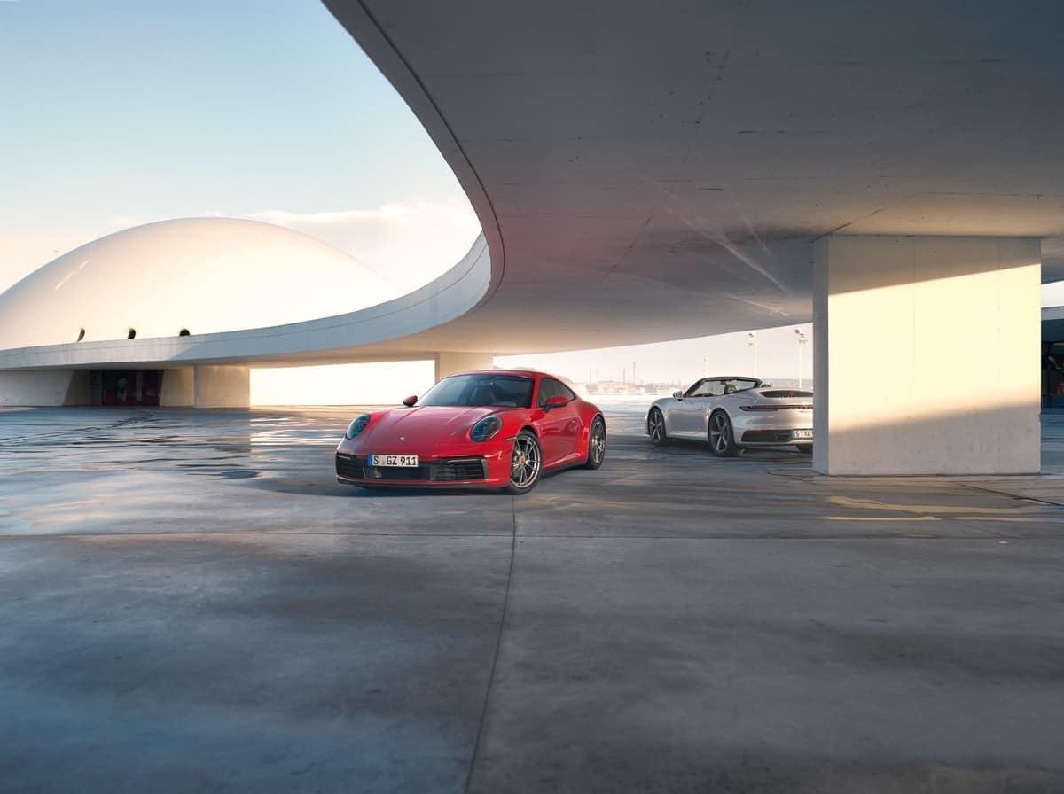 2019 Porsche 911 Carrera model lineup