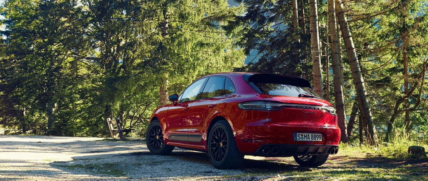 2020 Porsche Macan rear exterior view