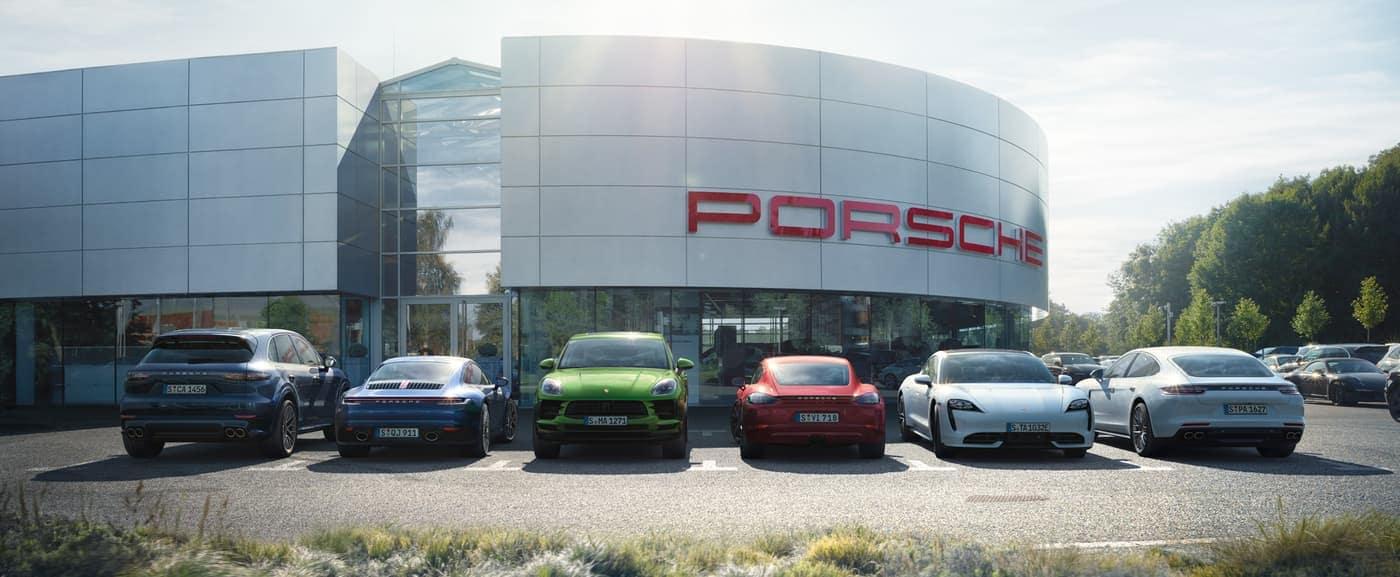 2020 Porsche lineup