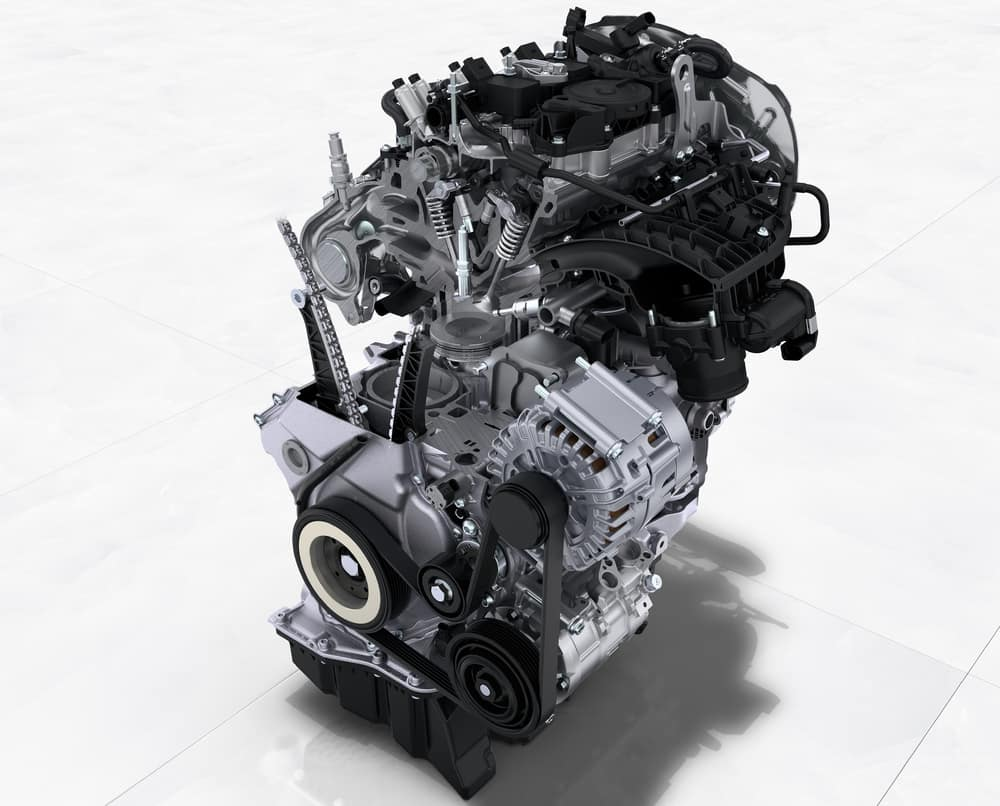 2019 Porsche Macan 2.0-litre turbocharged I4 engine