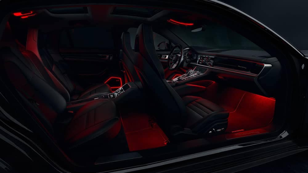 2020 Porsche Panamera Ambient Lighting