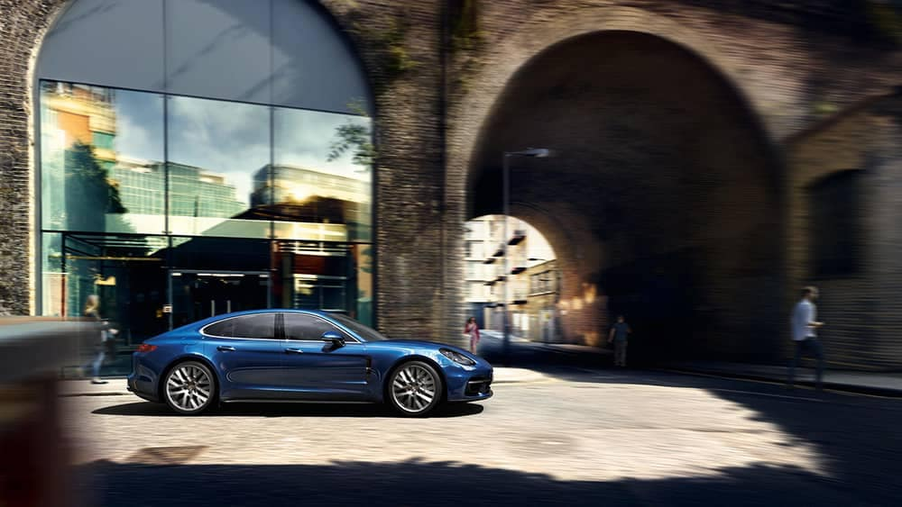 2020 Porsche Panamera In The City
