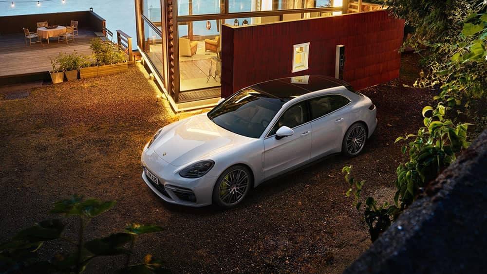 2020 Porsche Panamera Parked