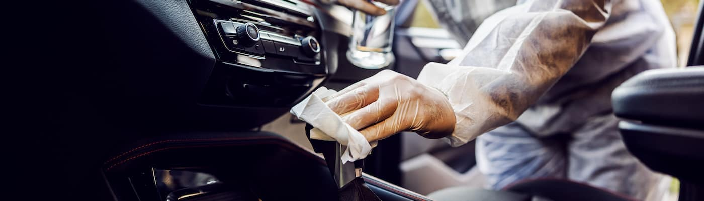 Sanitizing Car