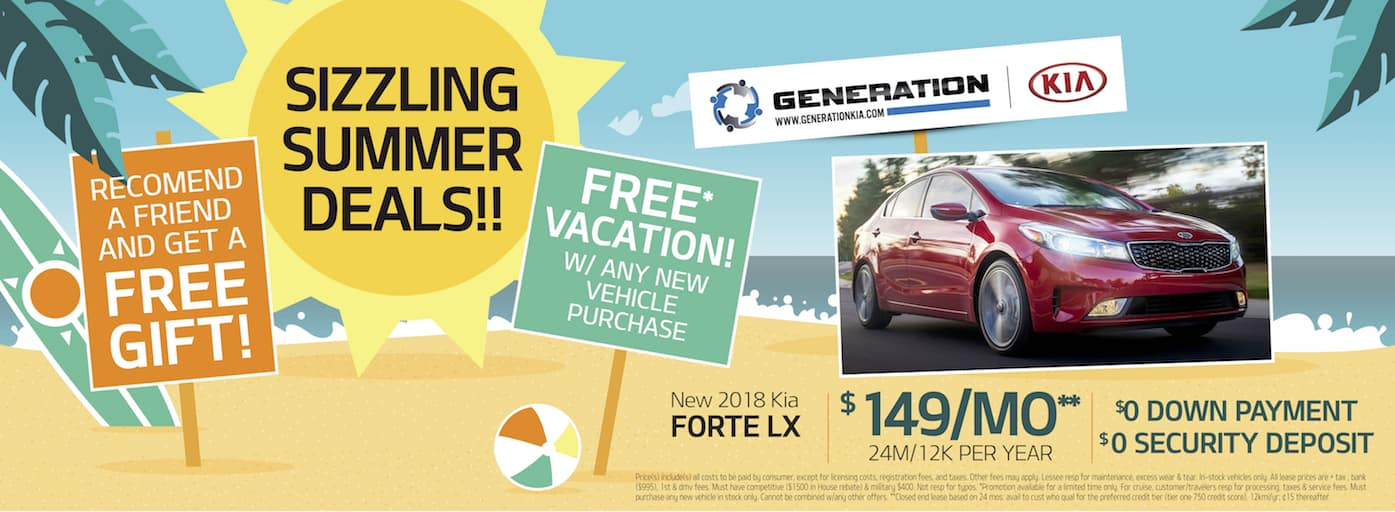 Generation Kia Summer Deal Forte