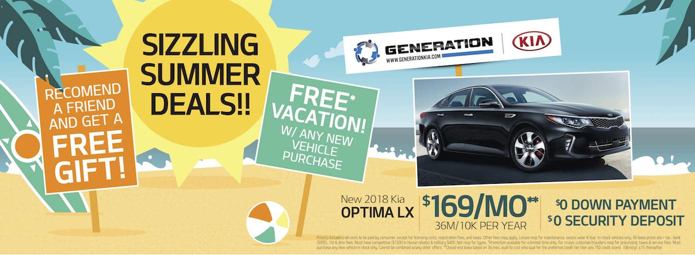 Generation Kia Summer Deal Optima
