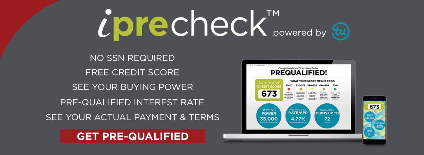 Get Pre Qualified with iPreCheck