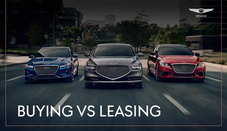 Buy vs. Lease | Genesis of Harlingen | Harlingen, TX