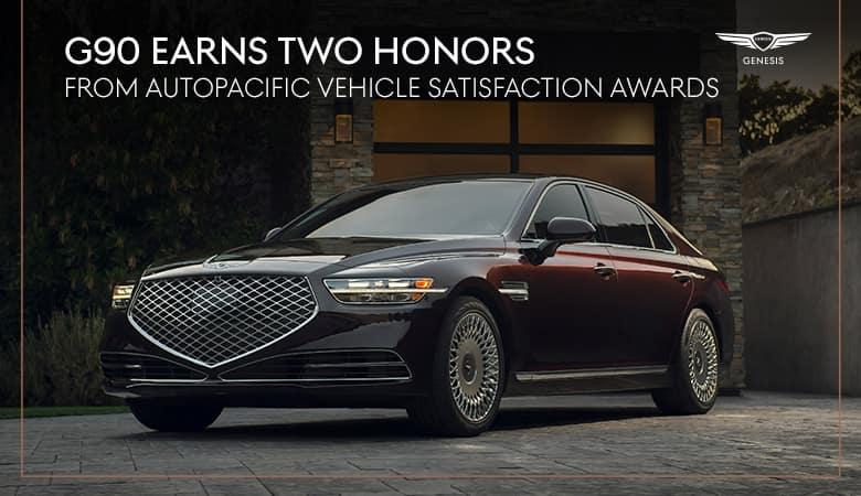 Genesis G90: AutoPacific® Awards Spotlight | Genesis of Harlingen | Harlingen, TX