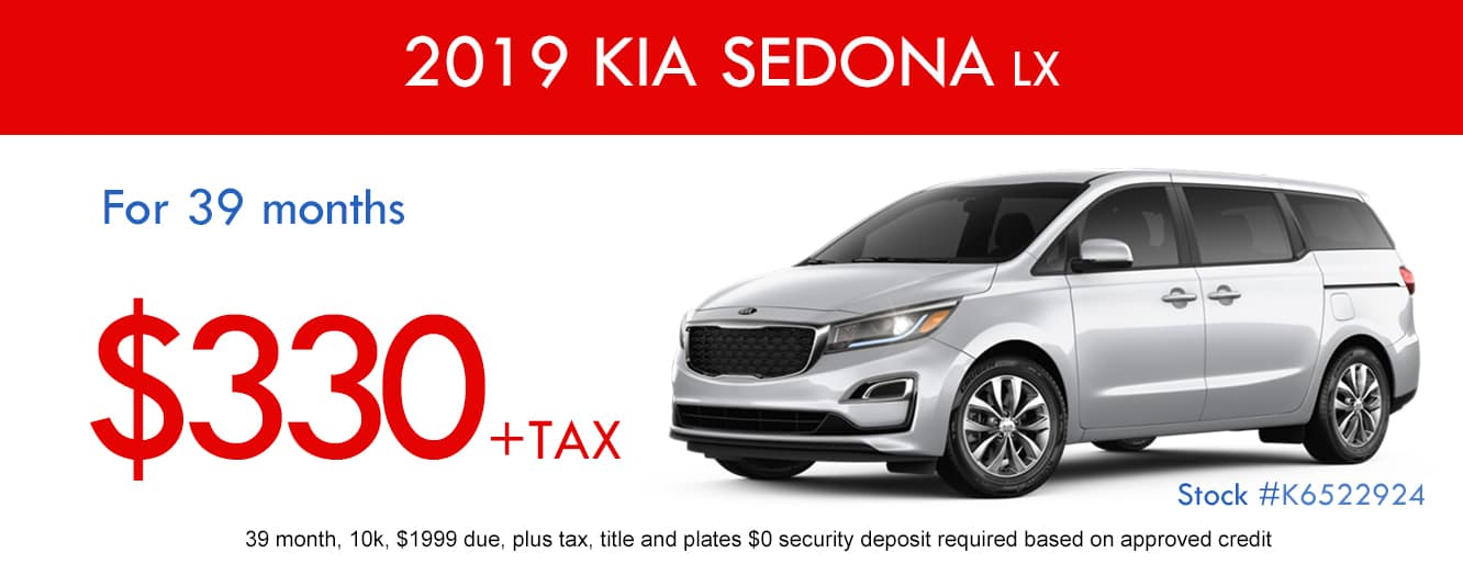 2019 Kia Sedona LX January Special