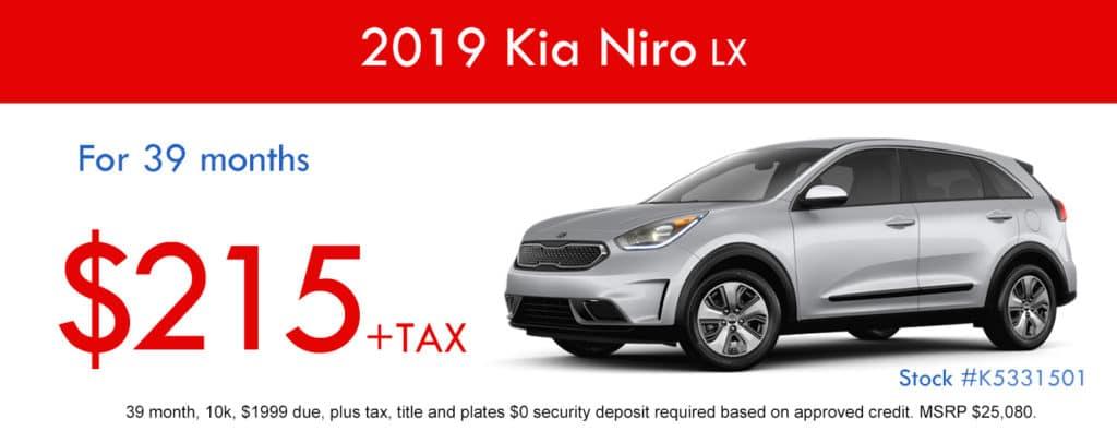 2019 Kia Niro LX