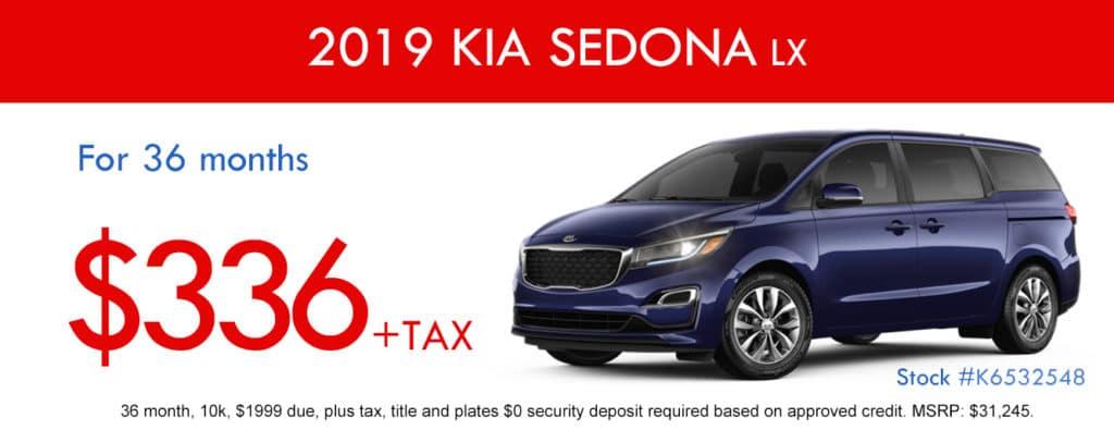 2019 KIA Sedona LX