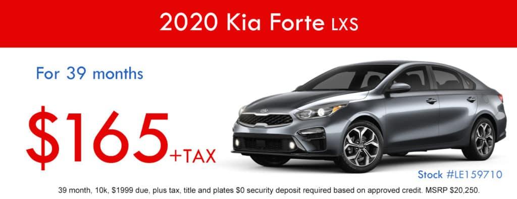 2020 Kia Forte LXS