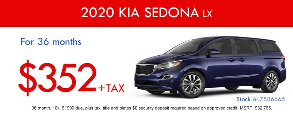 2020 Kia Sedona LX