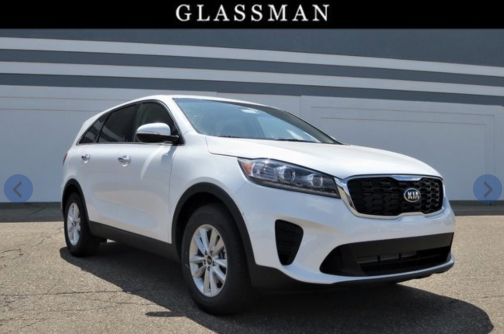 2019 Kia Sorento lease offers near me Detroit