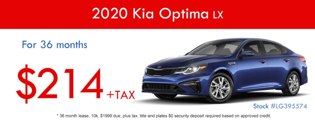 2020 Kia Optima LX