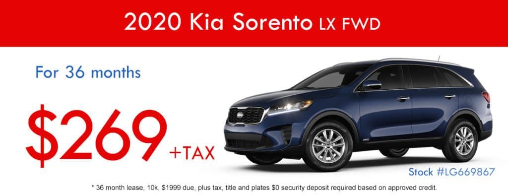 2020 Kia Sorento LX FWD