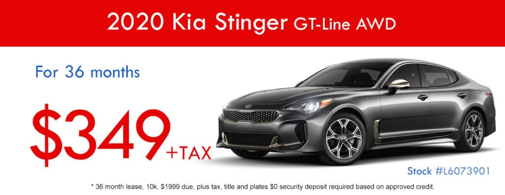 2020 Kia Stinger GT LINE