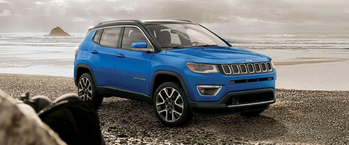 Jeep Compass, never lost