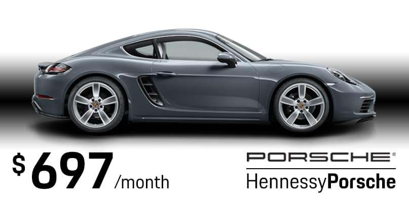 2018 718 Cayman Lease Special