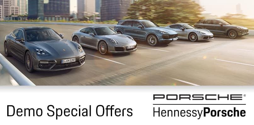 Corporate & Hennessy Porsche Demos