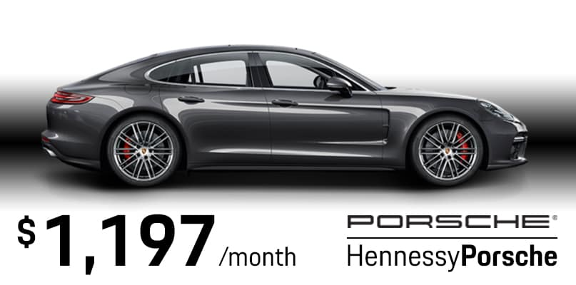 Panamera 4 Lease Special