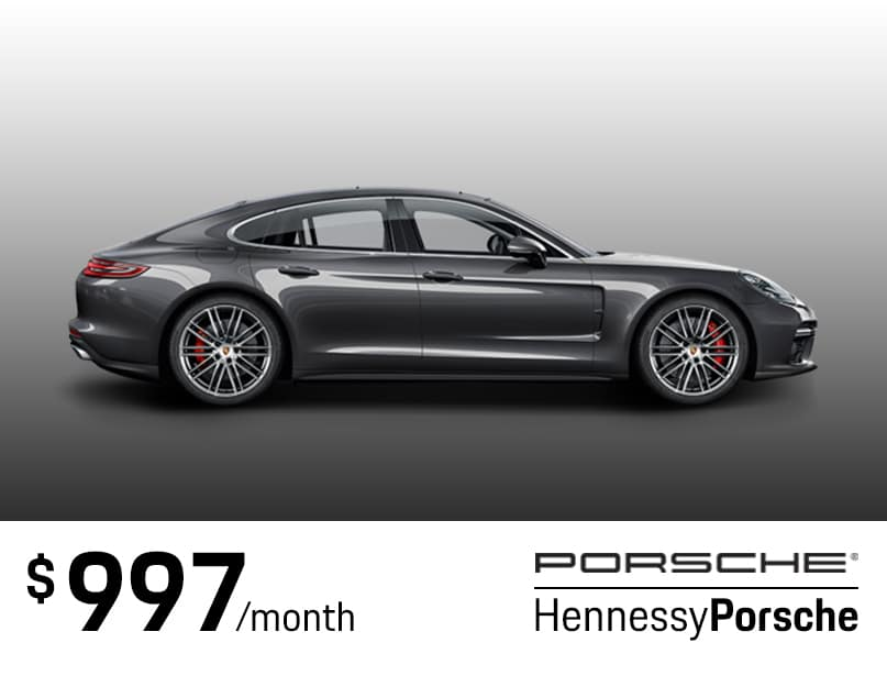 2018 Panamera Lease Special