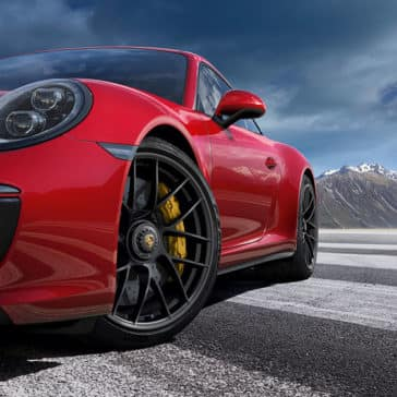 2018 Porsche 911 GTS Exterior Close up of Tire and Side