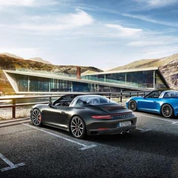 2018 Porsche 911 Targa 4 Exterior